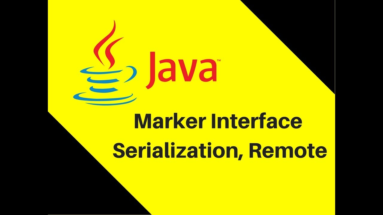 823 marker interface in java tutorial serialization remote youtube 823 marker interface in java tutorial serialization remote baditri Image collections