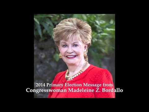 2014 Primary Election Message from Congresswoman Madeleine Z. Bordallo