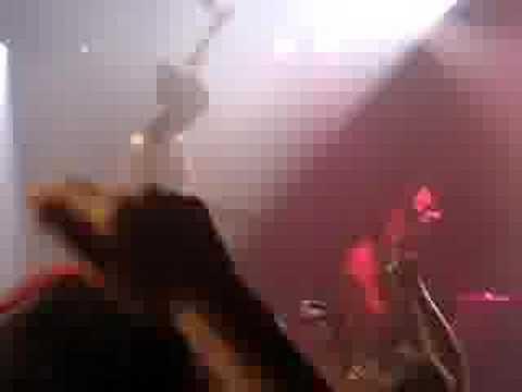 Gogol Bordello- Pam Crowd Surfing on the Drum