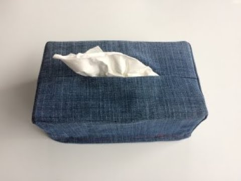 #DIY Tissue Box Cover | Tutorial