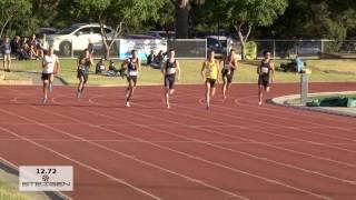 2016 geelong steigen 100m 200m