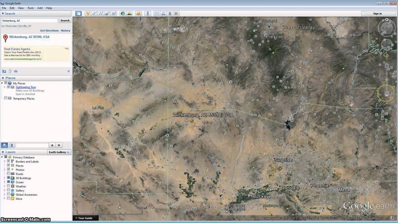 Gold Maps YouTube - Georgia map google earth