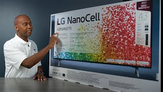 2021 LG NanoCell 75 4K Smart Television Unboxing And First Look!