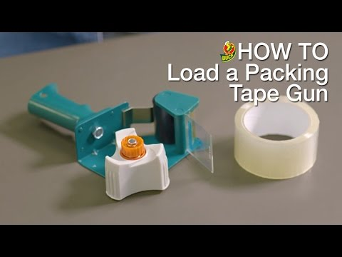 How to Load Your Duck® Packing Tape Gun