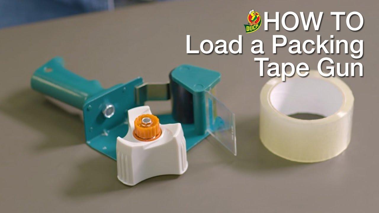 Duck Load Tape Dispenser How Tape