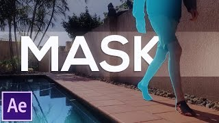 Text Behind Mask Effect | Adobe After Effects Tutorial