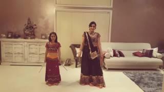 Khushi & Kripa Dandia dance. Udi Udi Jaye