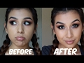 HOW TO: NOSE CONTOUR | TALK THRU STYLE | Monika Zamudio
