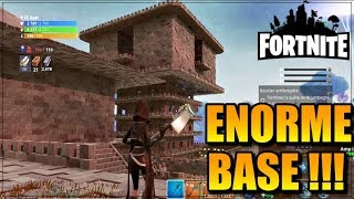 WTF!! THE MORE BIG BASE POSSIBLE - FORTNITE Saving the World