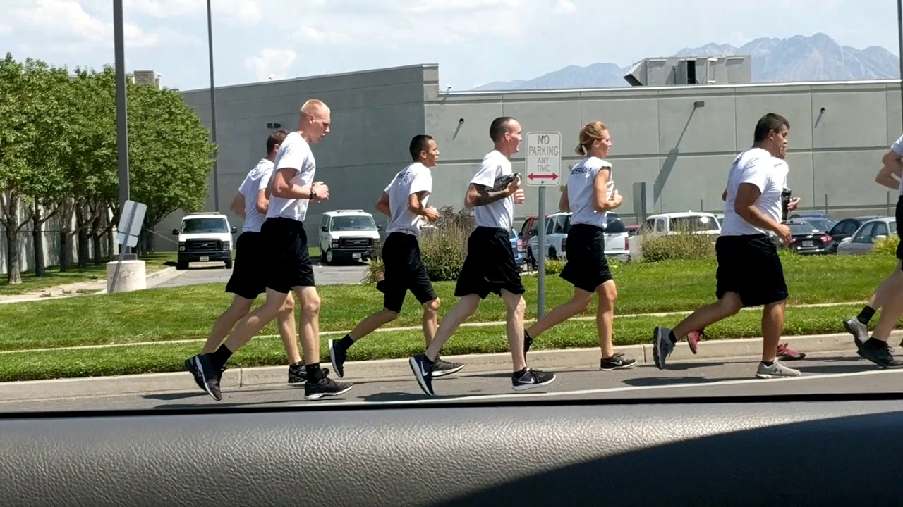 Jogging around the Salt Lake County Metro Jail