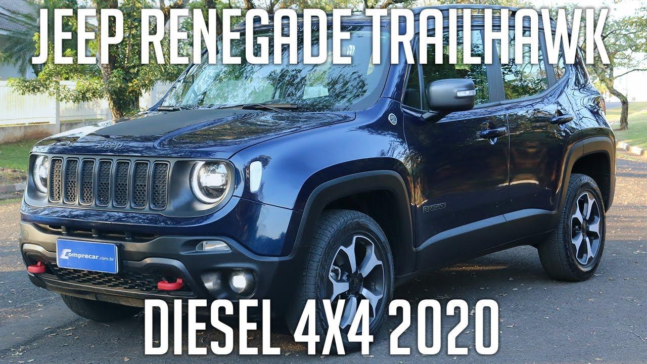 Avaliação: Jeep Renegade Trailhawk Diesel 4x4 2020