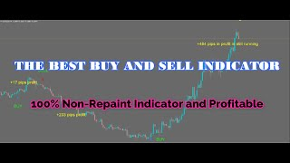 100% NON  REPAINT INDICATOR AND PROFITABLE  THE BEST BUY AND SELL ARROW INDICATOR