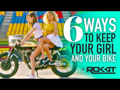 6 Ways to KEEP Your Girlfriend AND and Your Bike