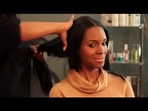 What Do You Put On Dry & Frizzy African-American Hair To Keep It Soft? : Hair Styling Tips