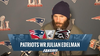 super bowl 51 media day patriots wr julian edelman   fansided