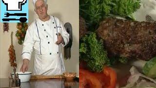 Люля кебаб. Как готовить фарш?  Грузинская кухня. Рецепт ТВ.