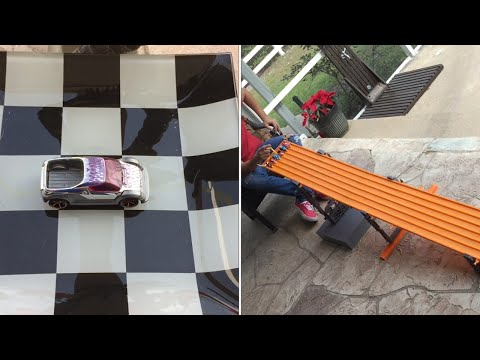 2015 HOT WHEELS KING OF THE HILL RACE #1