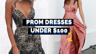 WHERE TO BUY: Prom Dresses UNDER $100 Online 😍