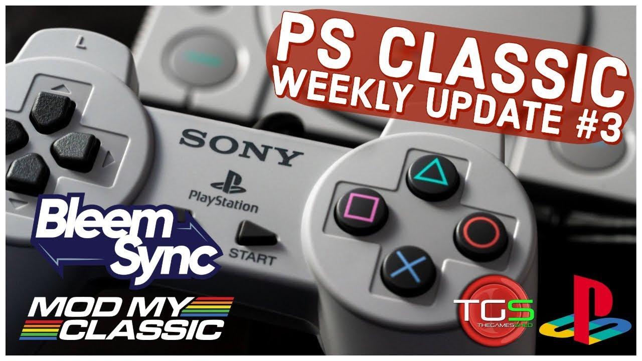 PS Classic Weekly Update #3 – Bleemsync 1 0 Countdown Timer