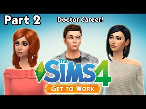 Let's Play: The Sims 4 Get to Work (Part...