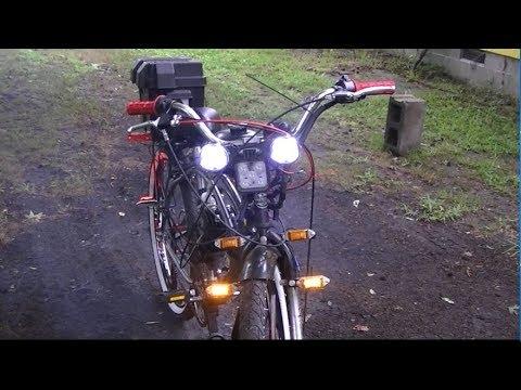 wiring 80cc 66cc motorized bike lights youtube rh youtube com