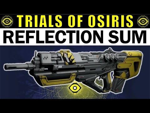 Destiny: Reflection Sum Review | AMAZING or AVERAGE? | Trials of Osiris Pulse Rifle
