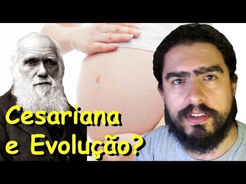 Cesariana está retardando a evolução? (#Pirula 189)