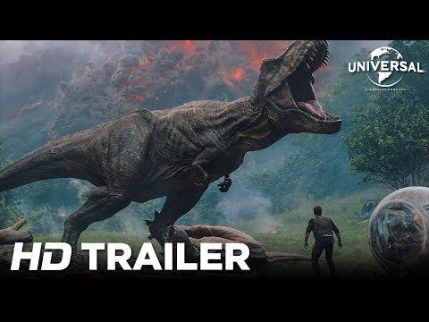 видео Jurassic Park El Reino Caido Trailer