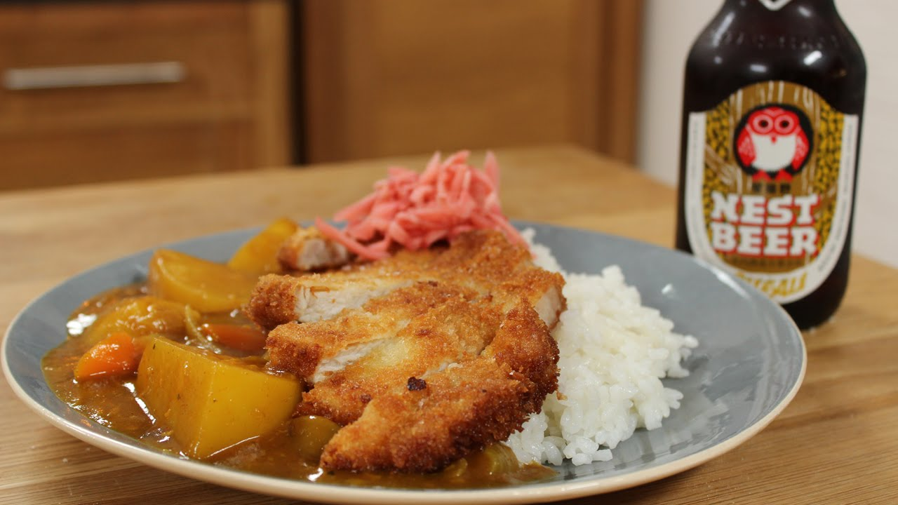Pork katsu curry with weiss beer ft. Tim Anderson | The ...