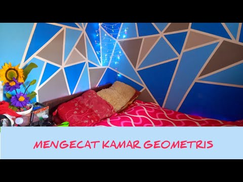 menakjubkan 30 lukisan dinding kamar geometri - arti gambar