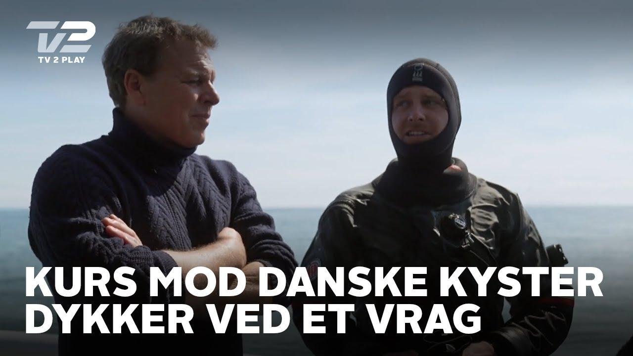 Kurs mod danske kyster | Emil, Theis og Alfred dykker ved et vrag | TV 2 PLAY