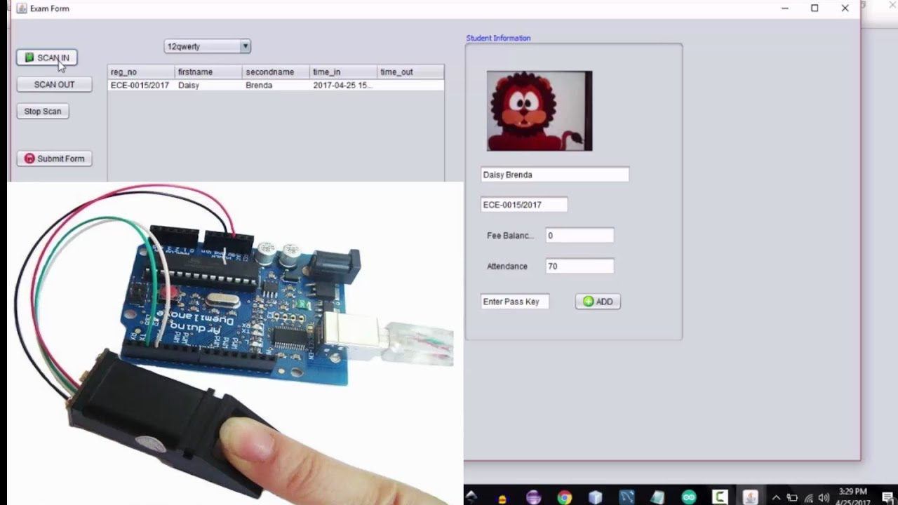 How to make an arduino Fingerprint Attendance System Project (Part 1)