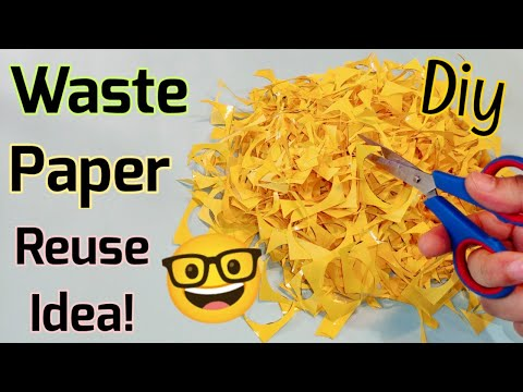 Waste material craft idea 🤓best out of waste/Homemade Paper squishy without cotton/diy paper squishy