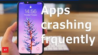Fixed ! Apps crashing in iPhone/iPad  frequently