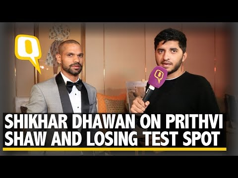 Shikhar Dhawan on Prithvi Shaw, Australia Omission and Test Comeback | The Quint