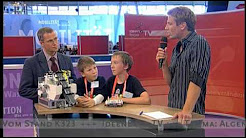 IdeenExpo 2009 - Algenbeseitigungs-Roboter aus LEGO