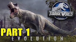 Jurassic World Evolution Gameplay Walkthrough Part 1 How to make Jurassic Park PC/PS4/XBOX ONE