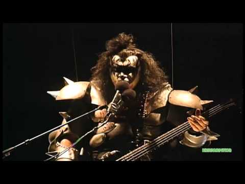 KISS  God Of Thunder 98  Dodger Stadium, Halloween