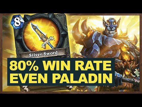 80% Win Rate Witch Even Midrange Paladin | Hearthstone The Witchwood