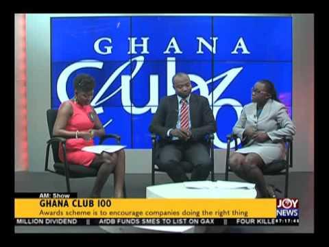 Ghana Club 100 - AM Show on Joy News (21-10-15)