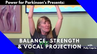 Parkinson's Exercise Class #2: Balance, Strength and Vocal Projection