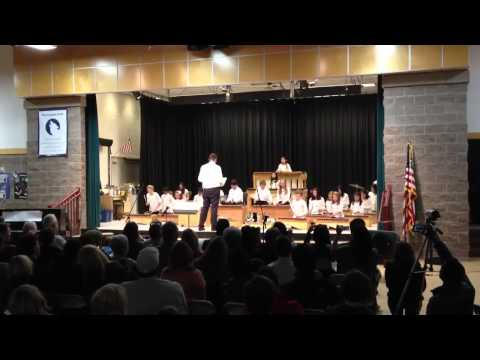 Cascade Ridge Elementary School Marimba Club, December 2011