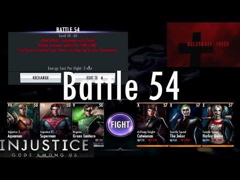 Injustice Gods Among Us iOS - Battle 54