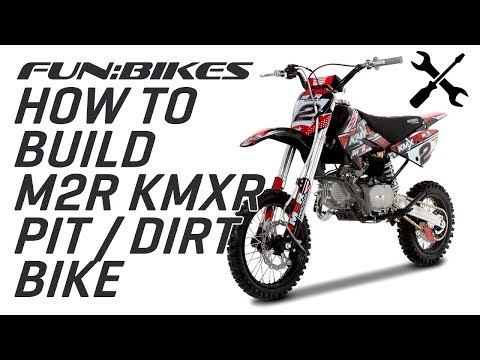 Technical Help: How To Build The M2R Racing KMXR Range Of Dirt And Pit Bikes