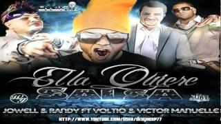 Ella Lo Que Quiere Es Salsa - Jowell & Randy Ft. Victor Manuelle Y Voltio ◄SALSA►