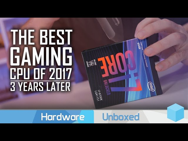 Intel's First 6-Core Gaming King: Core i7-8700K, 2020 Revisit