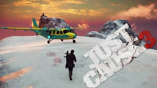 Remote Controlled Plane Launch and Hijacking in Mid Air! - Just Cause 3 Stunts