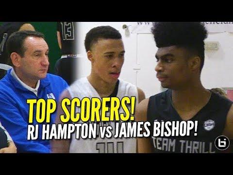 RJ Hampton vs James Bishop! Duke watches UAA Top Scorers in Dallas! Full Highlights!