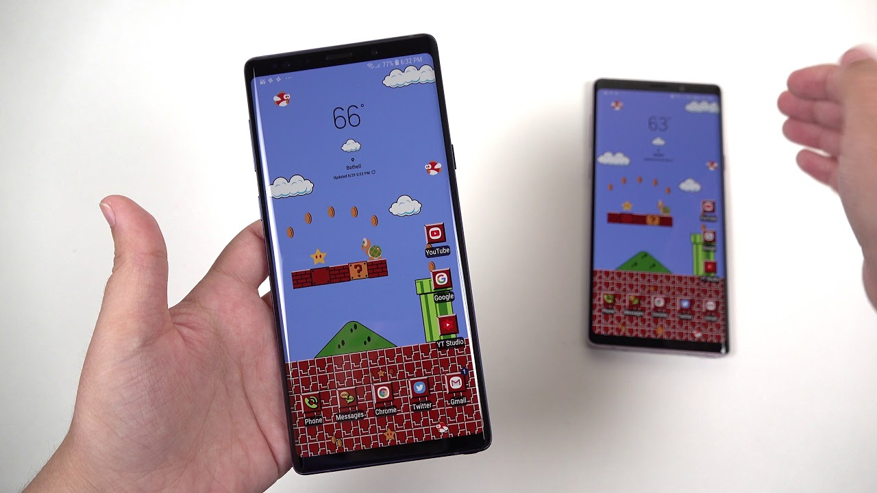 Unboxing $1,400 Note 9: 512GB vs 128GB