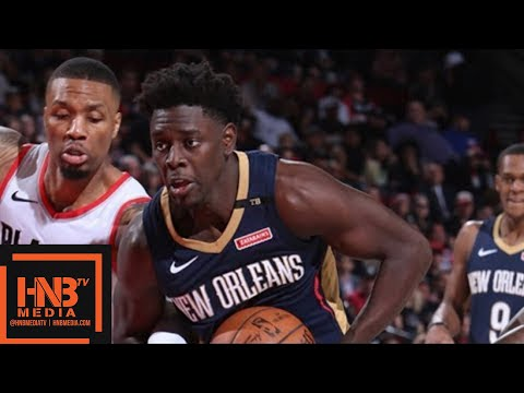 New Orleans Pelicans vs Portland Trail Blazers Full Game Highlights / Game 1 / 2018 NBA Playoffs